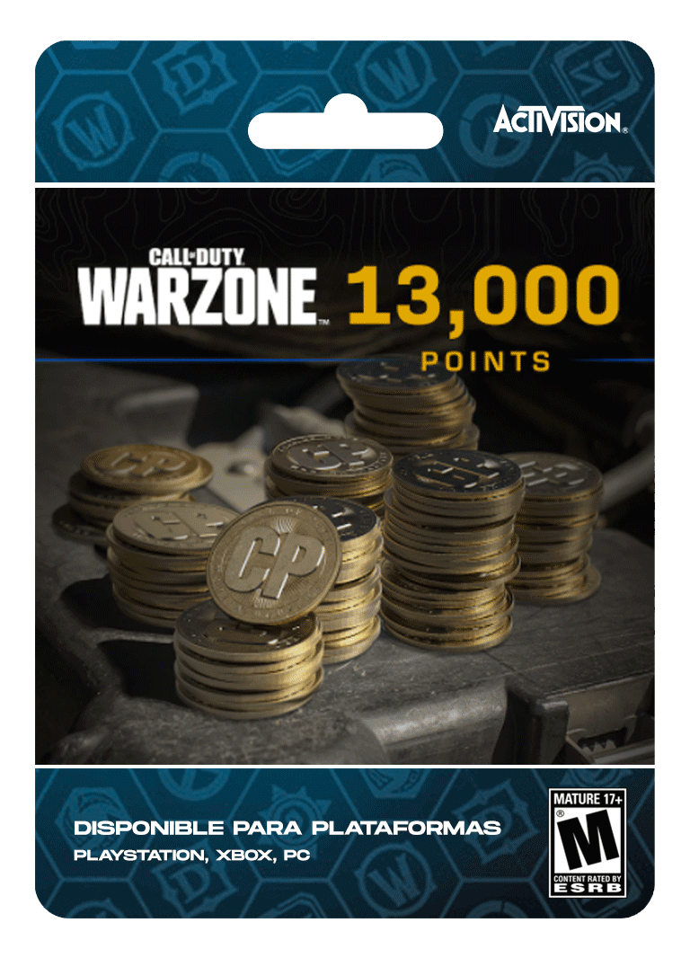 Warzone 13000 CP