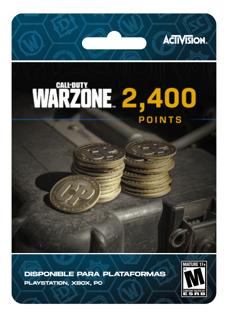 Warzone 2400 cp